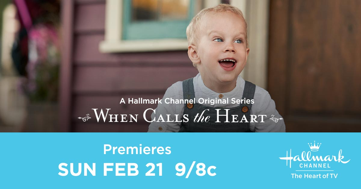 #Hearties, theres only a few more days until the premiere of #WhenCallsTheHeart season 8, and little Jack cant wait to see you! Let us know how excited you are in the replies, and tune in Sunday at 9/8c to watch an all new episode with us! Tweet along using #Hearties!