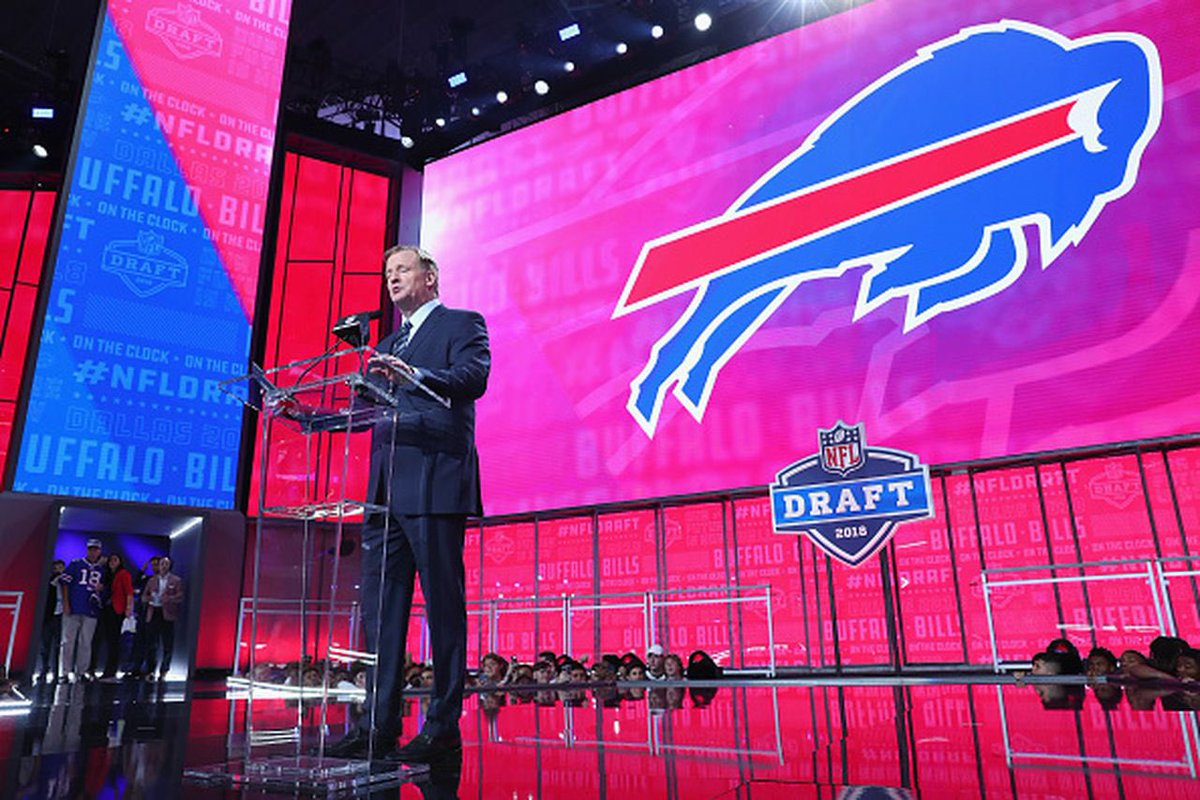 Buffalo has 15 picks tonight! There plan is grab a starter in rounds one and two and then look for the diamond in the rough in round 4-7! Let's hope they hit. #Panchopower @XCFLNetwork