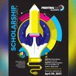 Image for the Tweet beginning: #SignPosts: @PRINTINGUnited's Student Scholarship Award