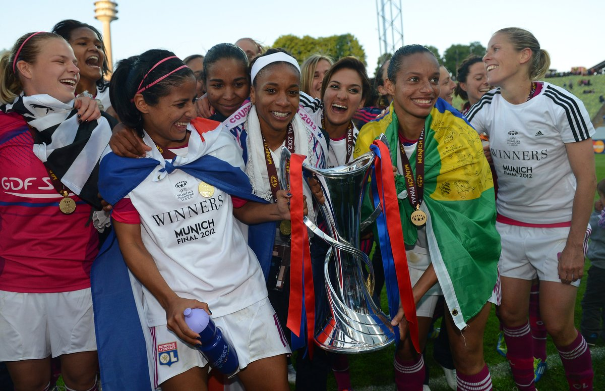 Good luck in retirement to a 2012 #UWCL winner with @OLfeminin - Rosana 🇧🇷