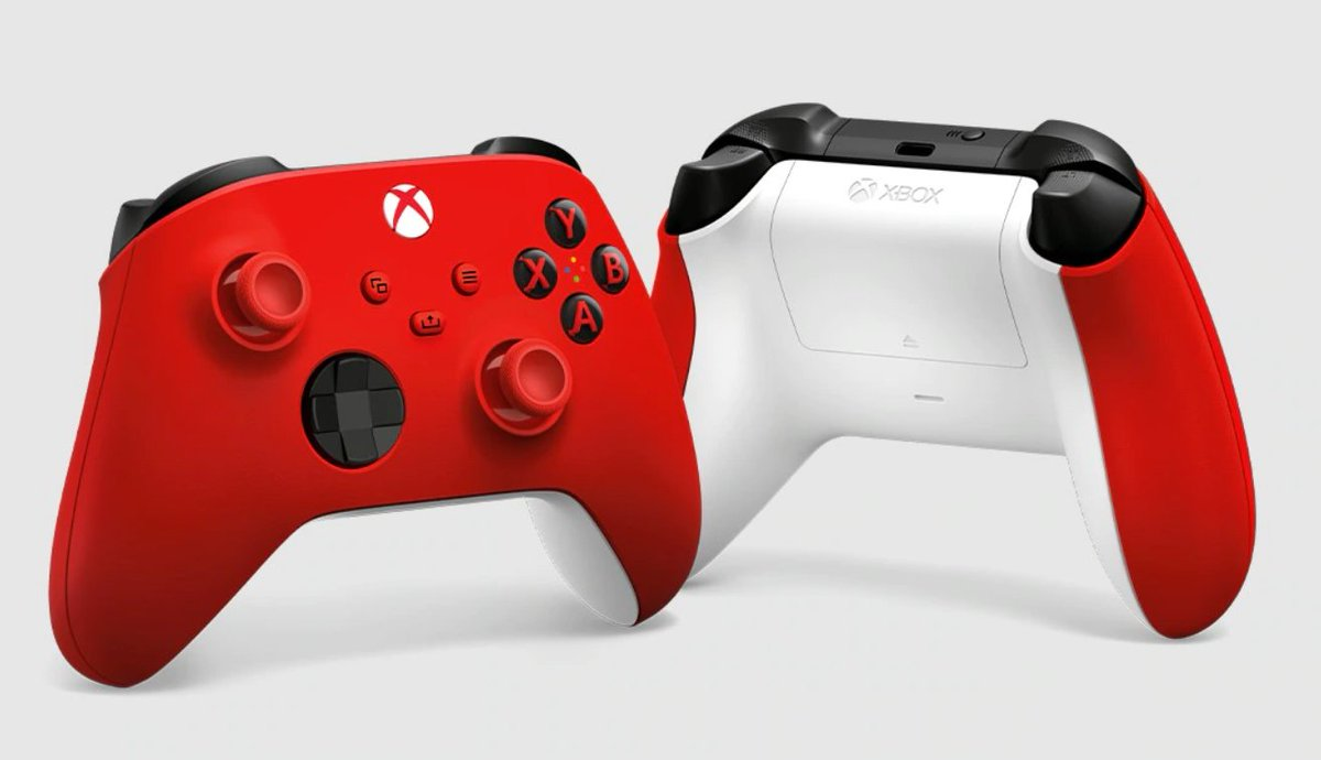 Plus ONE lucky #freecodefridaycontest winner is getting the recently released Pulse Red Xbox Wireless Controller