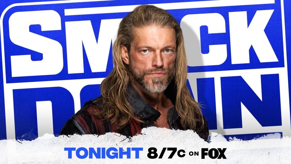 #SmackDown will kick off tonight with @EdgeRatedR!  What will the 2021 #RoyalRumble Winner have to say just days before #WWEChamber?