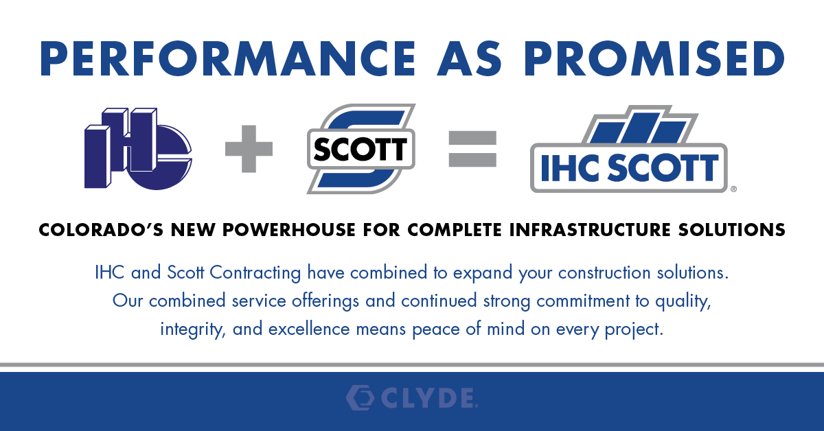 Providing our customers with high-quality service and expert infrastructure solutions as we expand our services and capabilities as IHC Scott. https://t.co/dELzbfs93r