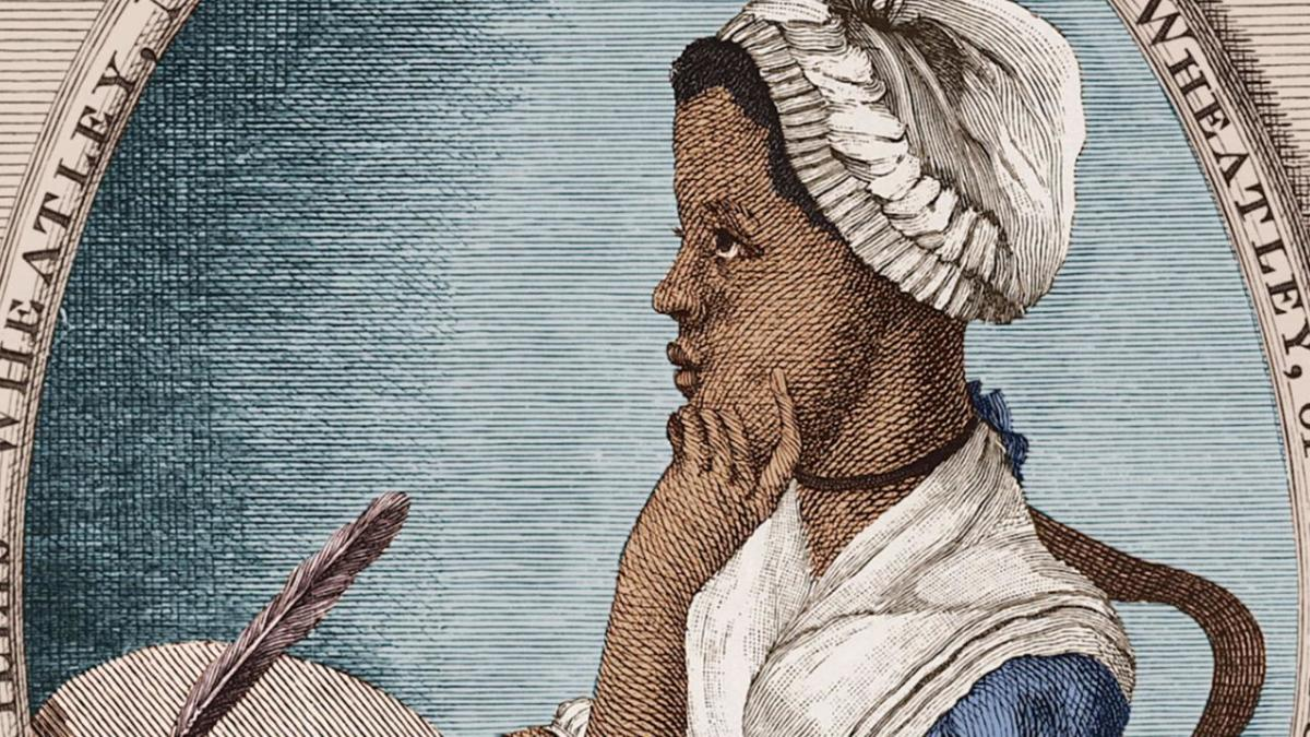 Phyllis Wheatley was the first African American to publish a book of poetry in 1773. She was sold to the Wheatly family of Boston when she was 7 years old, She was emancipated shortly after her book was released.