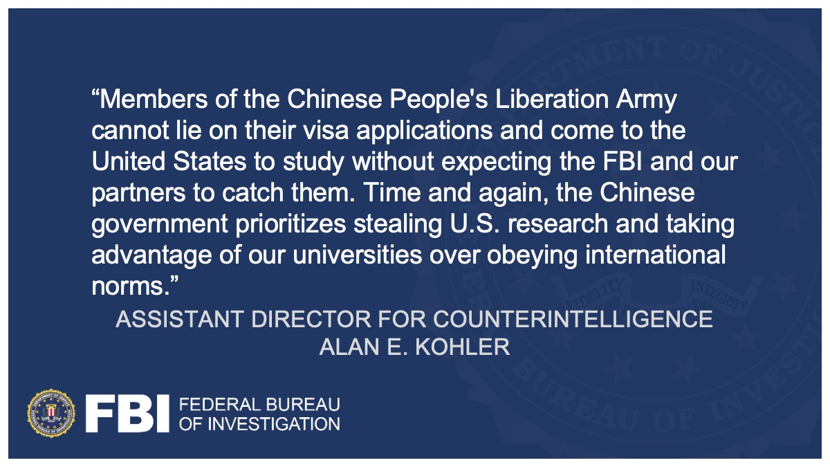 Federal Charges Against Stanford University Researcher Expanded @FBISanFrancisco ow.ly/A3ud50DF5Ey