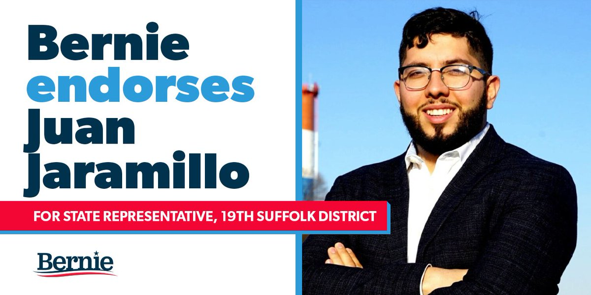 I'm endorsing @JuanForRep for state representative because when he gets to the state house he will put the working people of the 19th district before the needs of special interests and the wealthy.