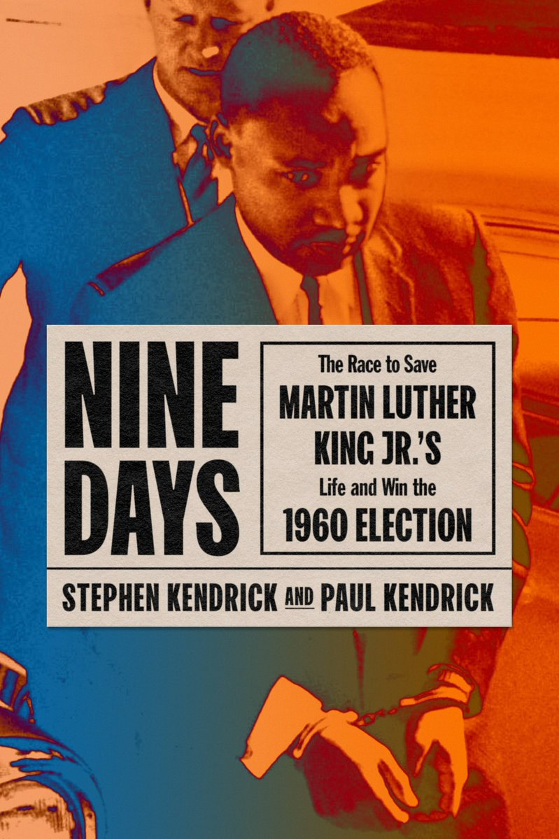 I want to share this inspiring book about the events leading up to the 1960 election, from Dr. King's imprisonment to student activism in Atlanta to JFK's campaign. It's a story we can all learn from—a story of overlooked heroes and the power each of us has to create change.