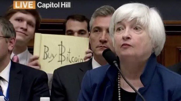 This picture was taken in 2017 when #Bitcoin was $7,000.