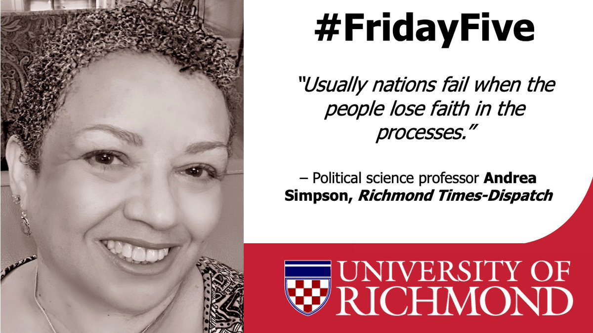 4/5: Poli sci prof. Andrea Simpson attributes her interest in Black politics to her experiences as an activist & participating in the last march led by Dr. Martin Luther King, Jr. She's quoted in this @RTDNEws #MLKDay piece.