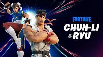 Fortnite Street Fighter Crossover skins