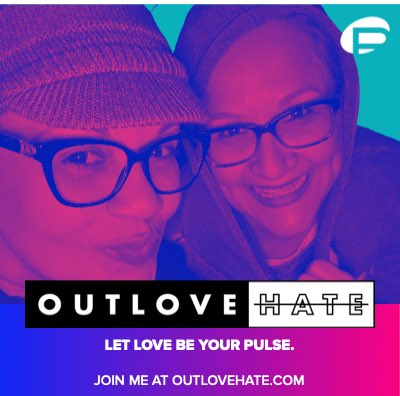 LET LOVE BE YOUR PULSE. Join us at  to help us OUTLOVE HATE and build a legacy of love. Every donor will be featured in a permanent mosaic at the Pulse Museum when it opens. #outlovehate #WeWillNotLetHateWin #OneHumanFamily #ForThe49