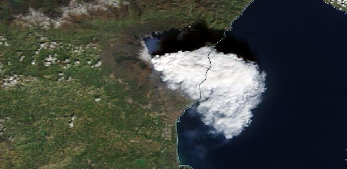 #Etna #volcano #eruption #pyrocumulus