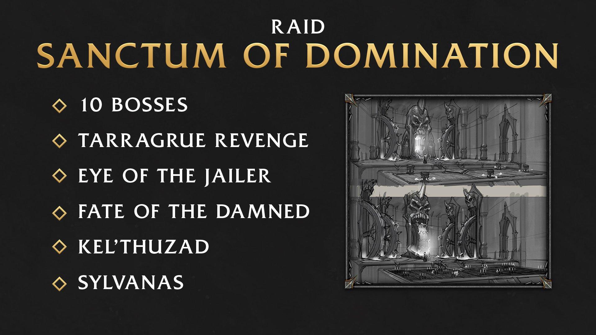 Raid Sanctum of domination