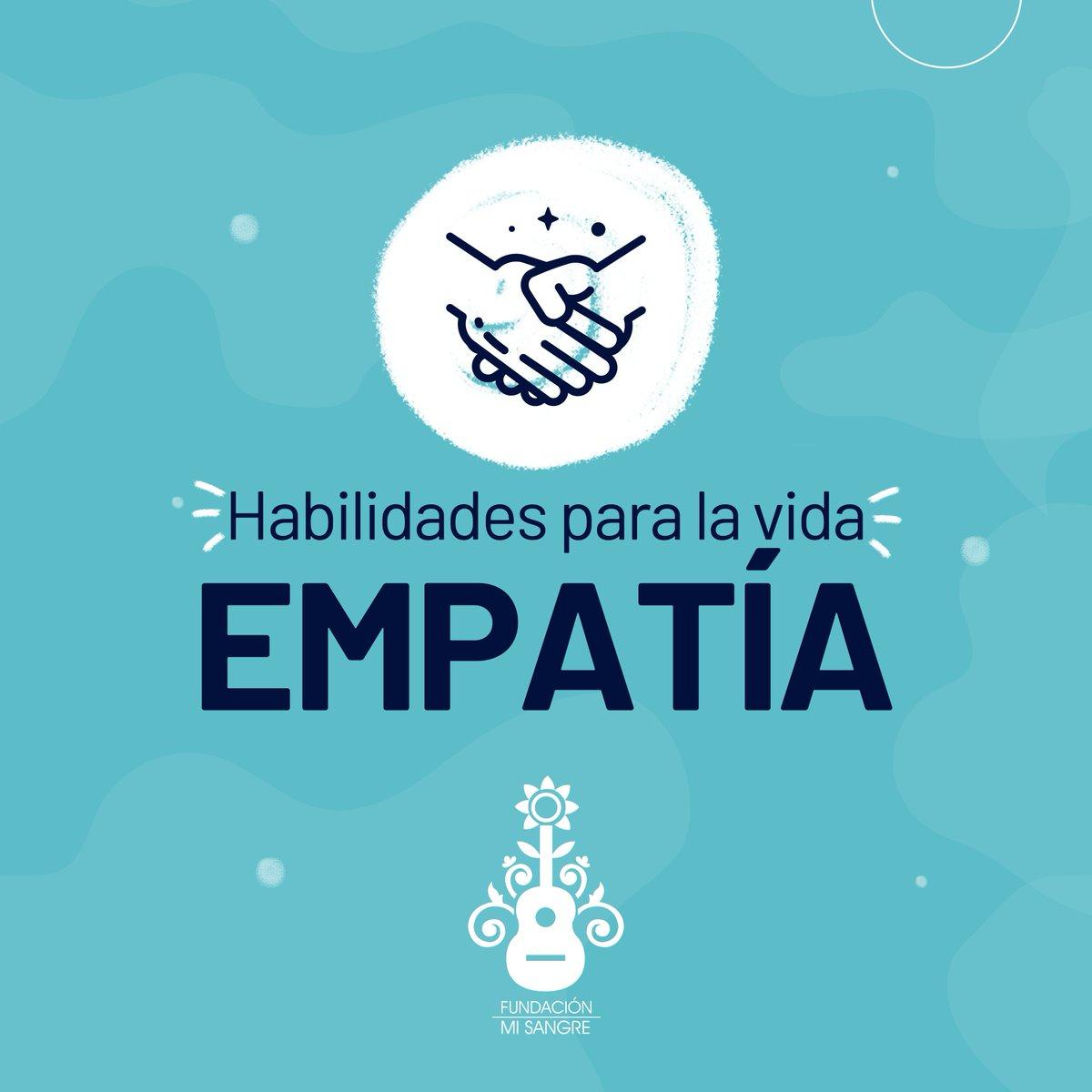 El poder de la empatía: ponerse en los zapatos del otro. Esta es una de las habilidades para la vida que fortalecemos día a día desde nuestro equipo de trabajo hasta los participantes de nuestros proyectos.