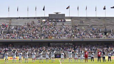 ¡Nueva casa!   Pumas Femenil arribará al Estadio Olímpico Universitario el próximo 20 de marzo, en el partido contra León de la Jornada 12   #LasPumasEnElOlímpico   https://t.co/H13dOFbWhP https://t.co/0Hvd1L9EW4