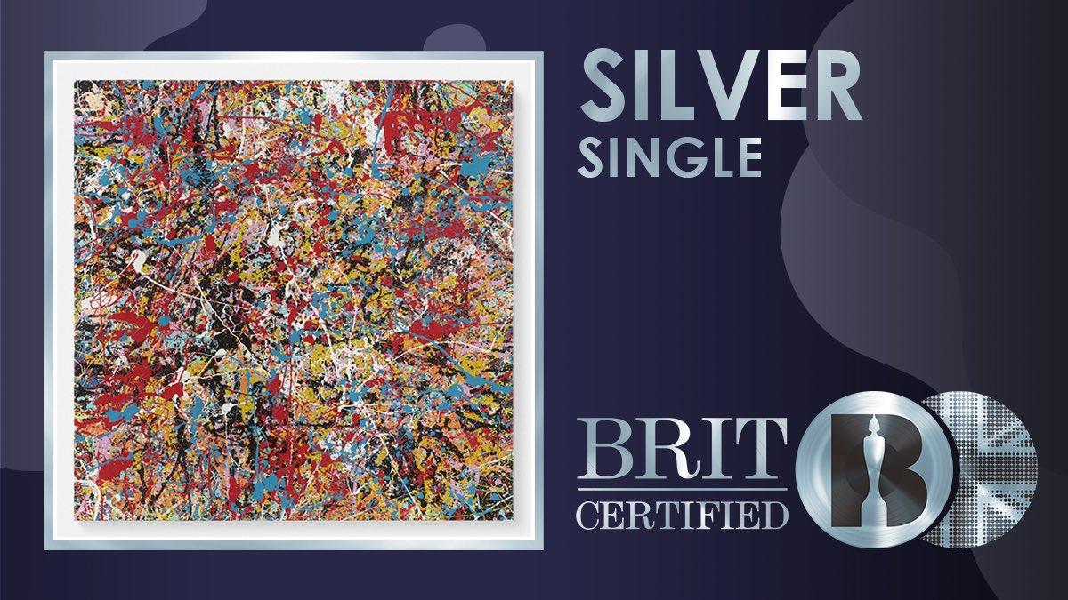 ✨ Lançado em dezembro, 'Afterglow' por Ed Sheeran foi certificado como Prata! 💿  #BRITcertified