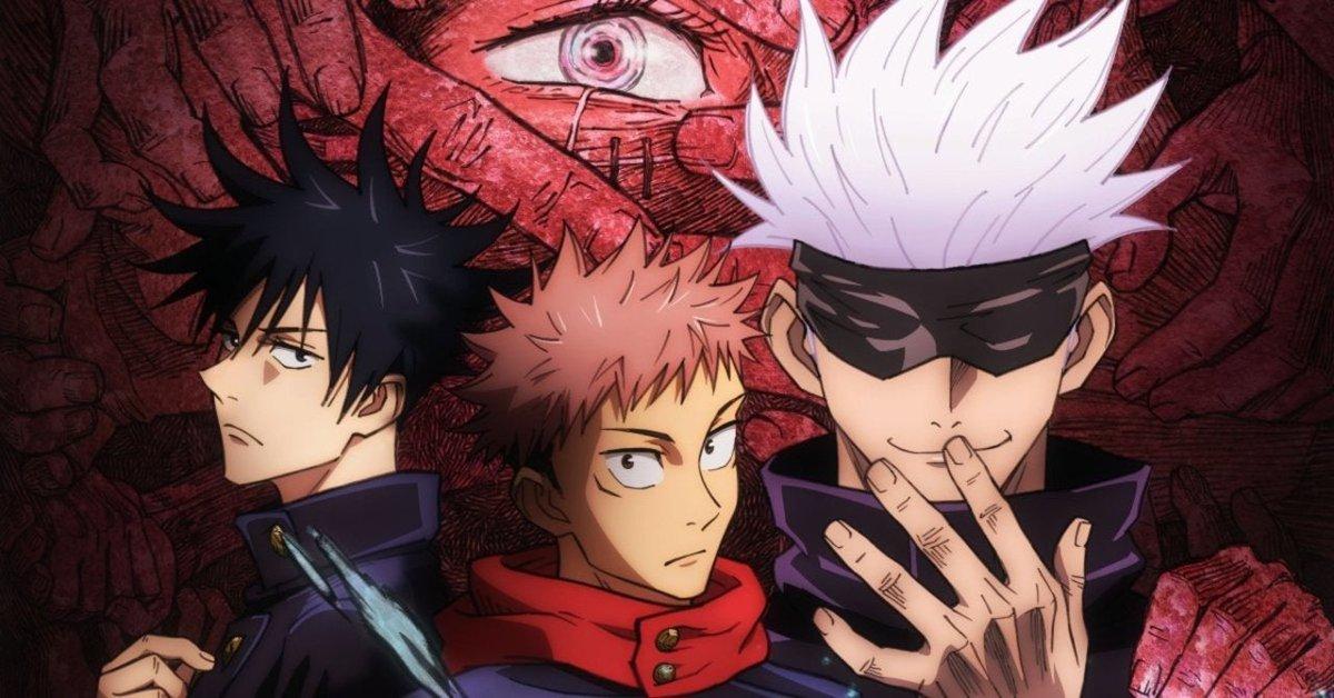 JUJUTSU KAISEN WON BEST ANIME OF THE YEAR AT CRUNCHYROLL LET'S GO EVERYONE!!! #JujutsuKaisen #AnimeAwards