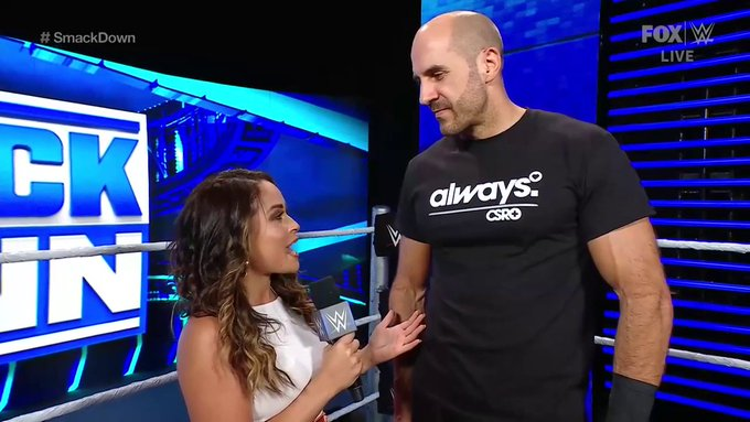 Cesaro On Reports That He Has Signed A New WWE Contract