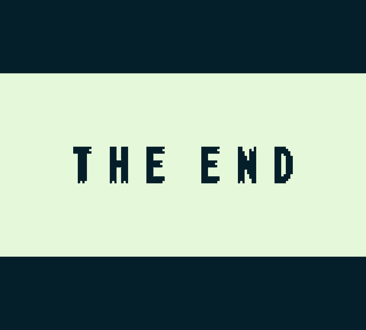 We are now six weeks later and I think it is time to say goodbye. This experiment was the craziest thing I have ever made and this would not have been possible without each and every one of you. Thanks for playing.