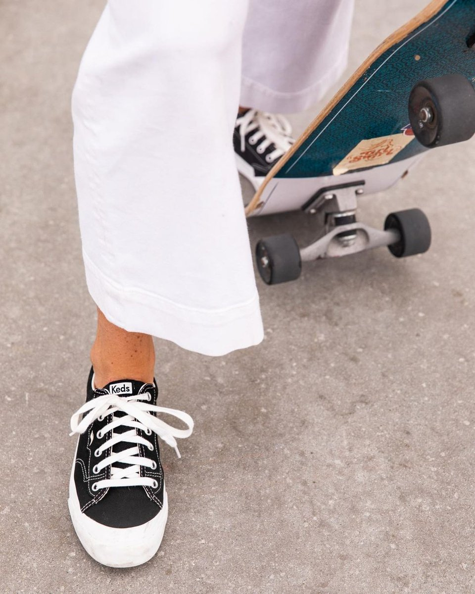 Rollin' through the weekend 🛹 #Kedsstyle  Get the Crew Kick sneakers at Keds stores, online at , or through the Keds Ph Viber community, and our personal shoppers will assist you! Join here: