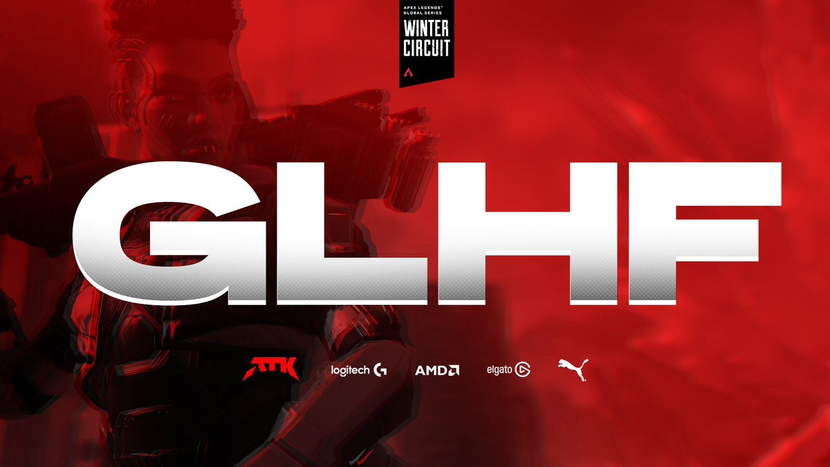 ATK_Zone - GLHF @chambieza @FriendlyWhyso @DStwika 🔥  Get that #ATKWin this weekend in the @PlayApex Global Series Winter Circuit, champions!  #PlaySeriously