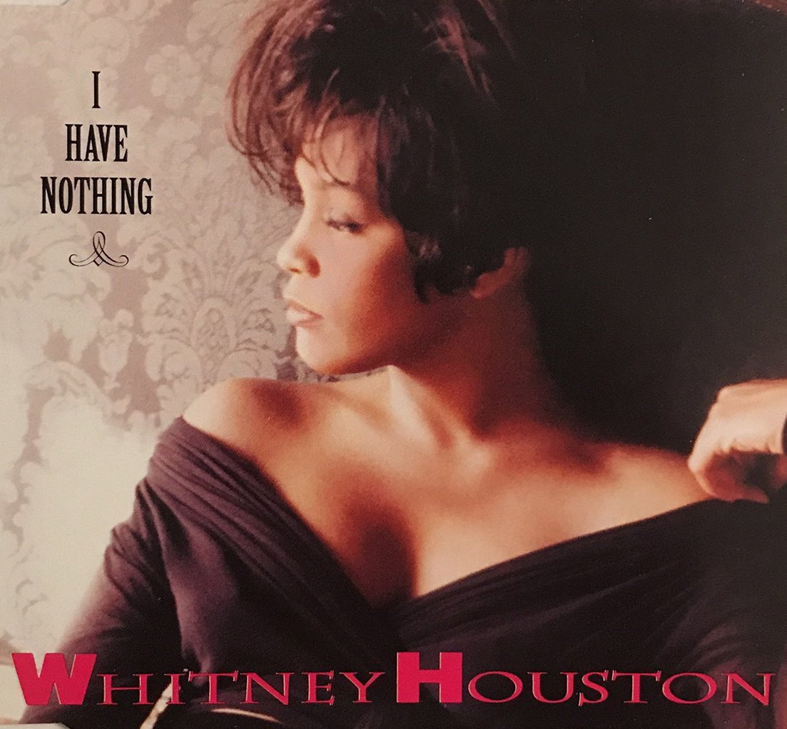 "28 years ago today, #WhitneyHouston released ""I Have Nothing."" The iconic ballad served as the third single from the 'The Bodyguard' soundtrack and peaked at #4 in the US & at #3 in the UK. Now one of her signature hits, it was nominated for both an Oscar and a Grammy Award."