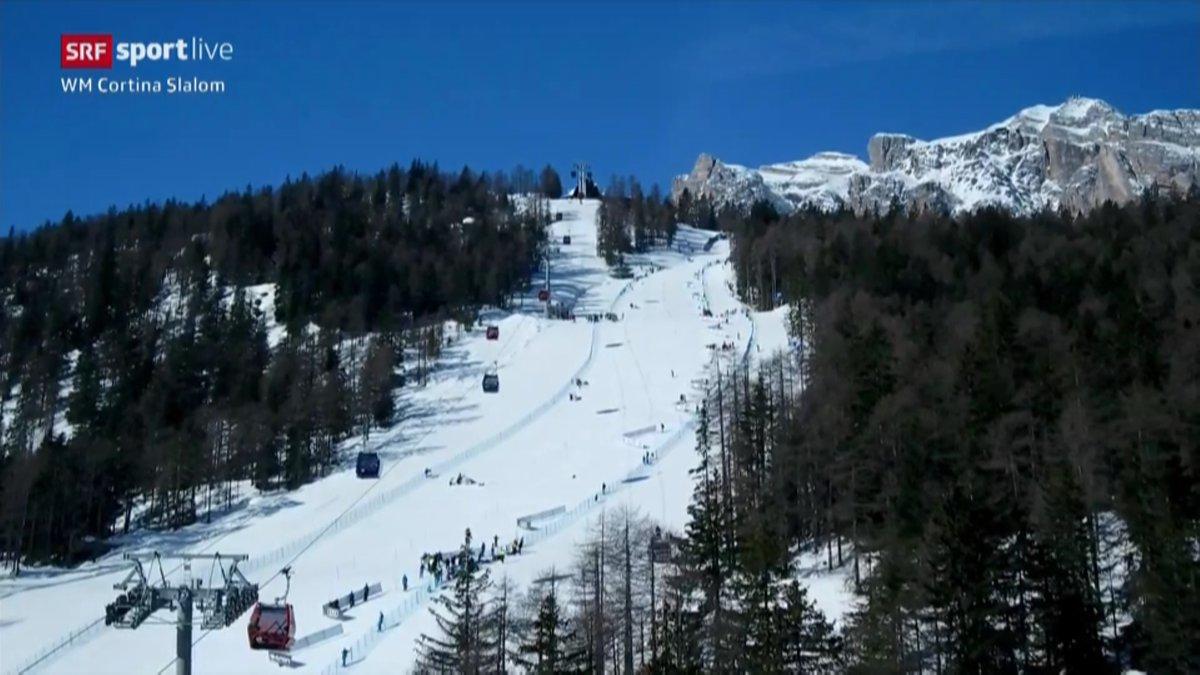 Die Schweizerinnen im #WM-Slalom in #Cortina:  6. Michelle Gisin 🇨🇭 7. Wendy Holdener 🇨🇭 19. Mélanie Meillard 🇨🇭 25. Camille Rast 🇨🇭  #srfski #skiwm #cortina2021 @swissskiteam https://t.co/4ZBbC1gGYe