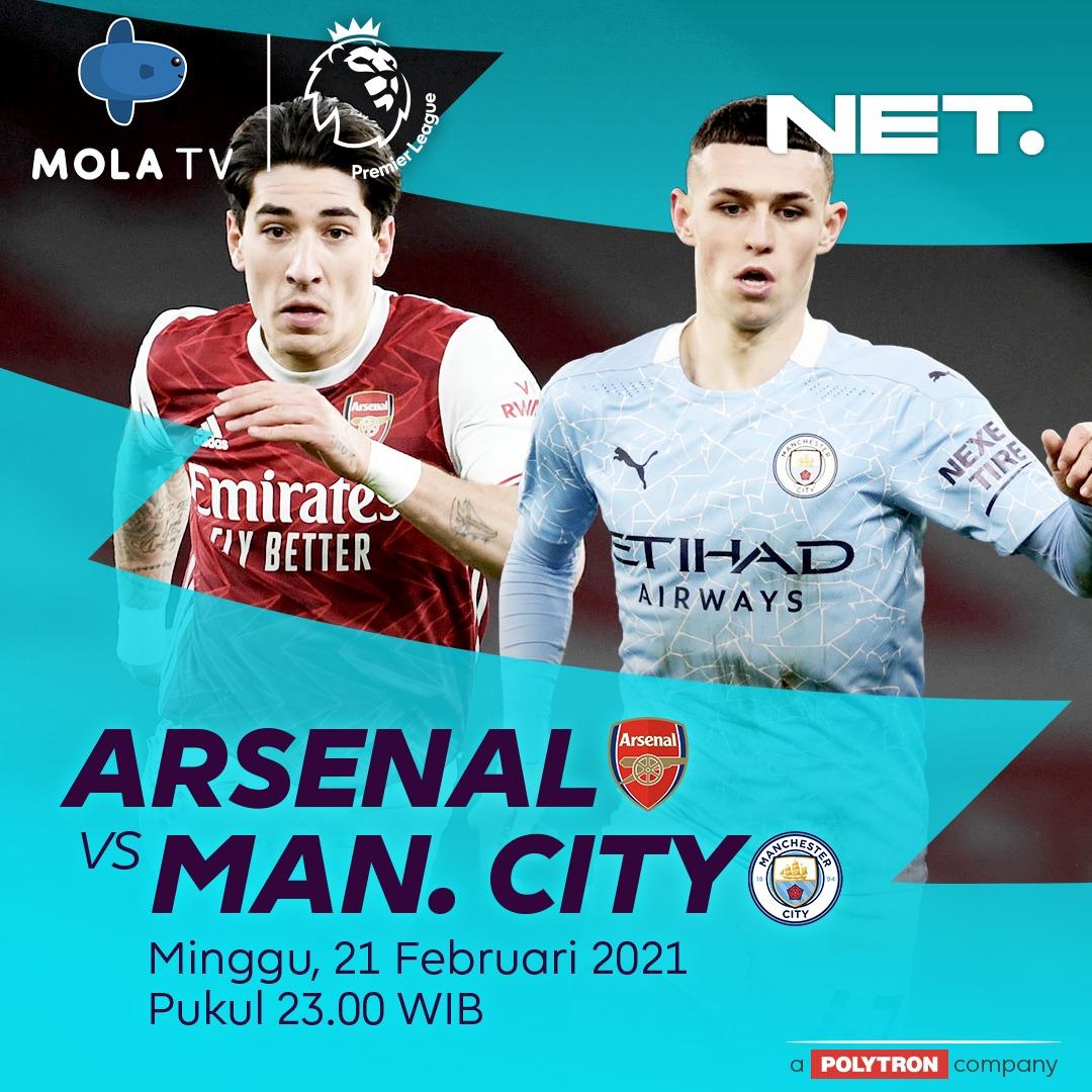 PREMIER LEAGUE MINGGU & SENIN.  Arsenal vs Man. City, Minggu 21 Februari, LIVE 23.00 WIB.  Man. United vs Newcastle, Senin, 22 Februari, LIVE 01.30 WIB. #NontonBolaAsiknyadiNET https://t.co/QsumbEm7Zt