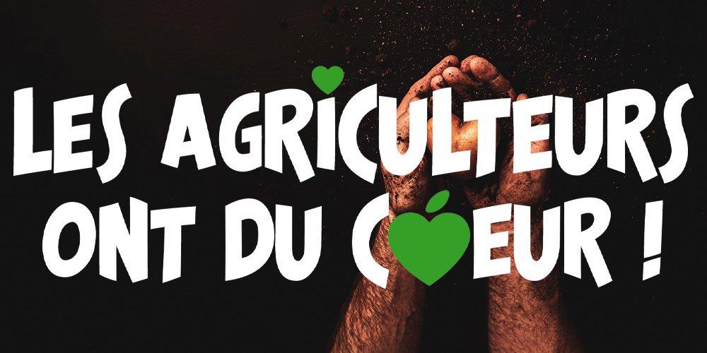 🛑 Fréquence ESJ est partenaire de l'opération «les agriculteurs ont du cœur» ! Objectif : venir en aide aux plus démunis grâce à la générosité du monde agricole, tout cela en partenariat avec les banques alimentaires ➡️ https://t.co/rH5NI4d8SG #frequenceesj https://t.co/gz869WoWw0