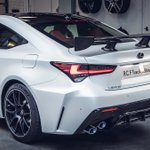 There will only ever be one #LexusRCF Track Edition in Hakuji white in the UK – and this is it.