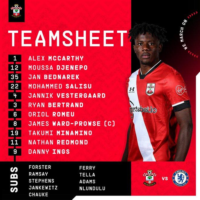 Line Up Southampton