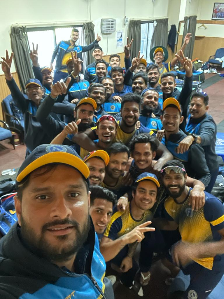What a solid win to start off our Vijay Hazare Trophy campaign. Well done boys. Lets keep the momentum going. 💪💪