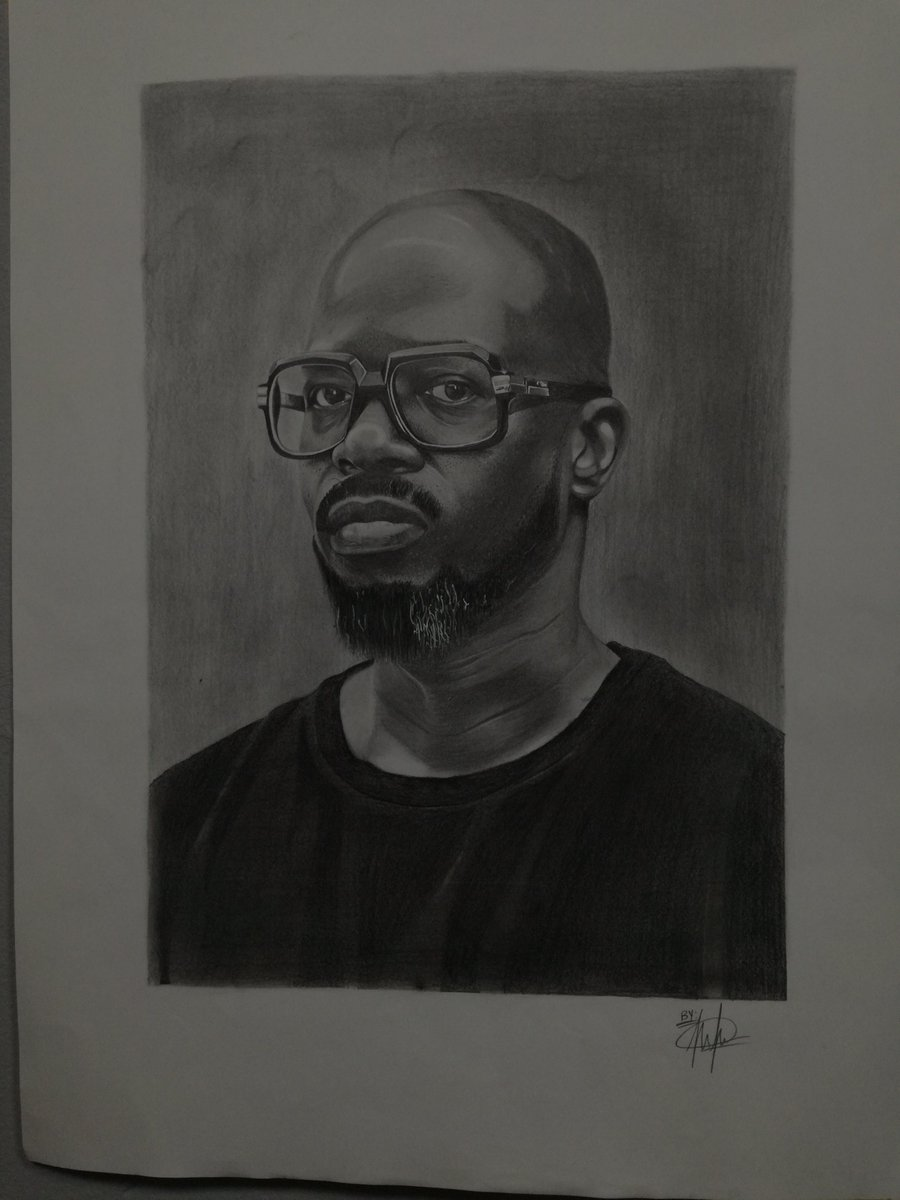 Just finished this A2 drawing. Decided to draw the legend @RealBlackCoffee  . If this could reach him, I'd be happy.  I'd appreciate every RT. 🙏🙏