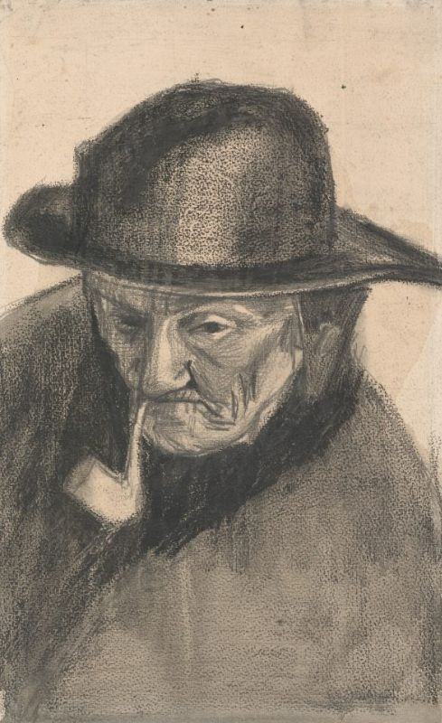 'Old chap, I've had so much pleasure drawing fishermen's heads', wrote Vincent to his brother, 'with that sou'wester, which had fish scales still stuck to it when I got it'. https://t.co/eYiz4PhqOl