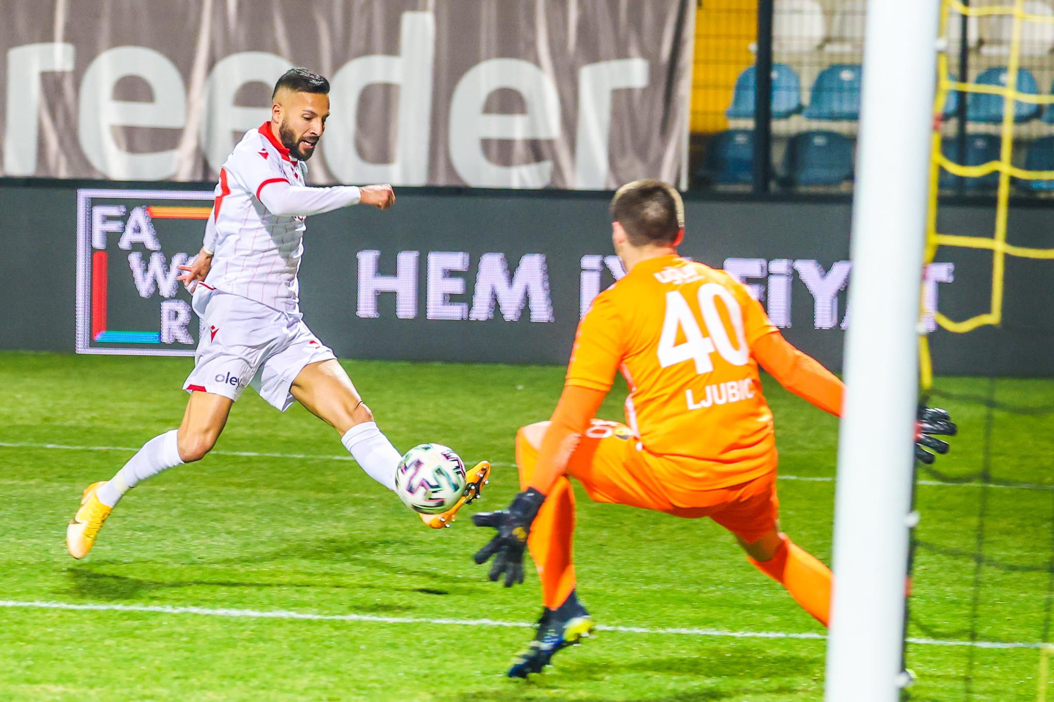 Samsunspor'da haftayı 3 puanla kapattı
