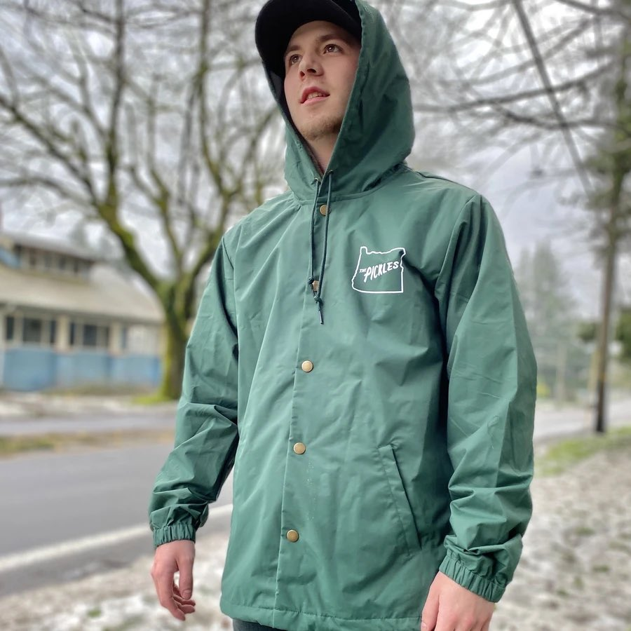 These Rain Jackets that just showed up in the @picklesbaseball team store are 💣💣💣  I am completely in support of more teams selling rain jackets  Get yours
