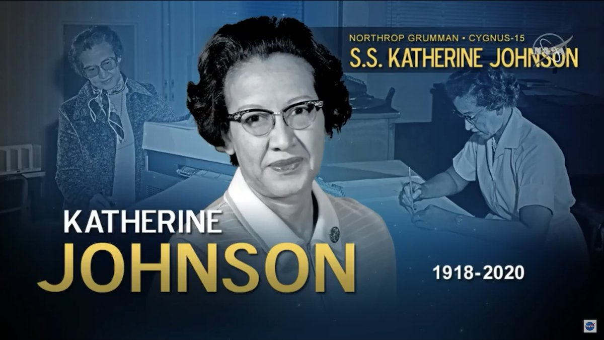 La Cygnus fue llamada S.S. Katherine Johnson