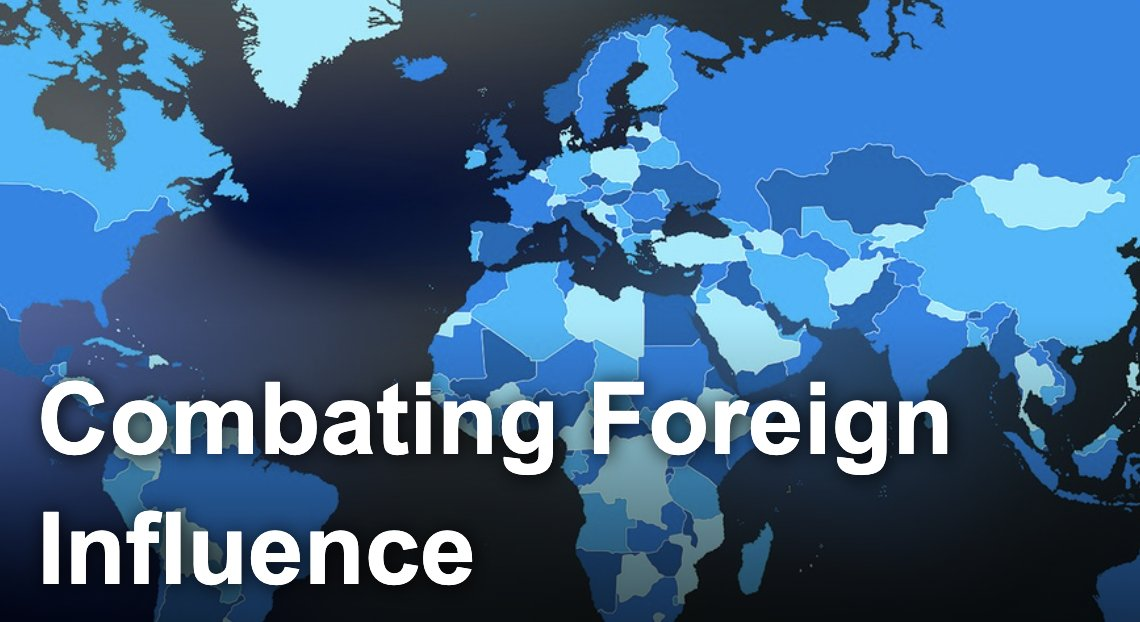 Malign foreign influence operations are covert actions by foreign governments to influence U.S. political sentiment or public discourse. The #FBI investigates these operations, and in 2017, Director Wray established the Foreign Influence Task Force.