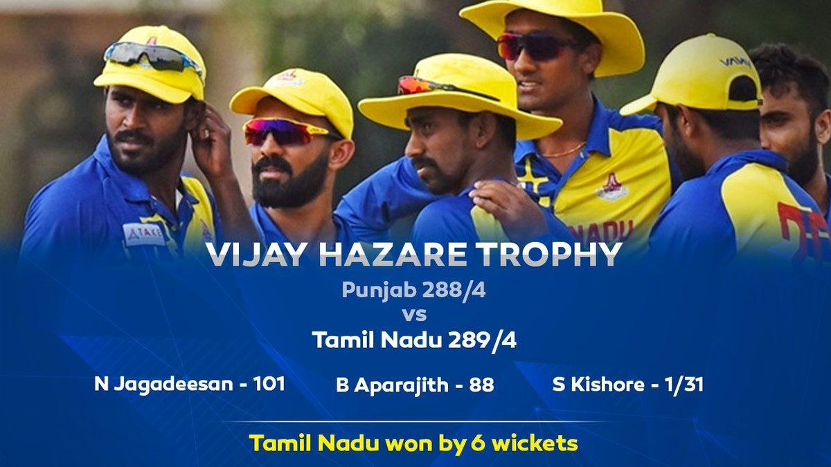 And here we begin another campaign 💪🏻❤️  #VijayHazareTrophy #TNvPUN