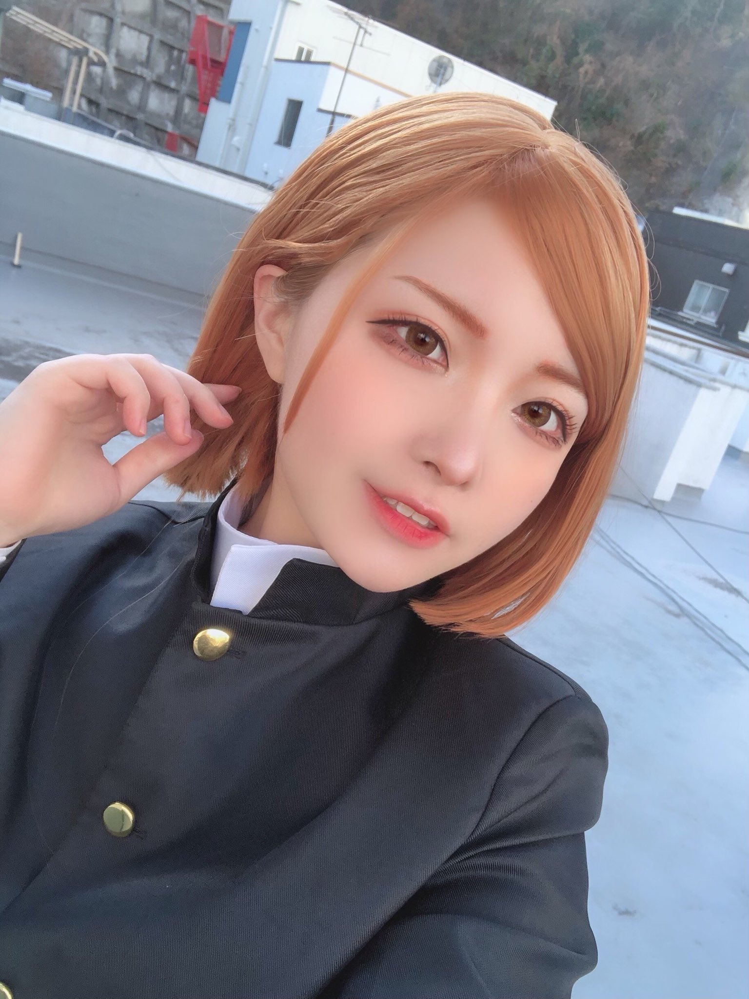 Cosplayer Nobara Kugisaki Jujutsu Kaisen nekomaru