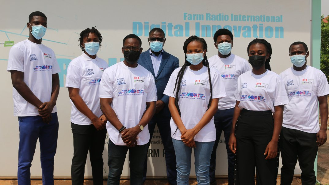 Good job to all @FarmRadioGh staff especially the Country Representative - @BenjaminFiafor and our counterparts from #Nigeria  and #SierraLeone for your contributions and participation.  Thank you to all the participants... See you next year for #WorldRadioDay 2022!😉 #WRD2021