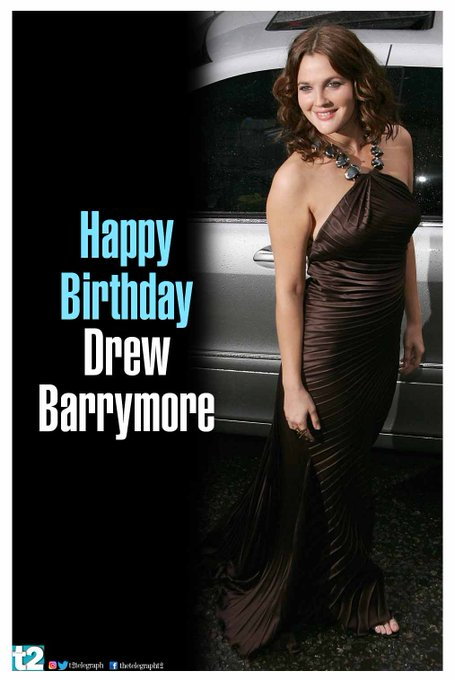 Cool, charming and chirpy. That\s Drew Barrymore for you. Happy birthday!