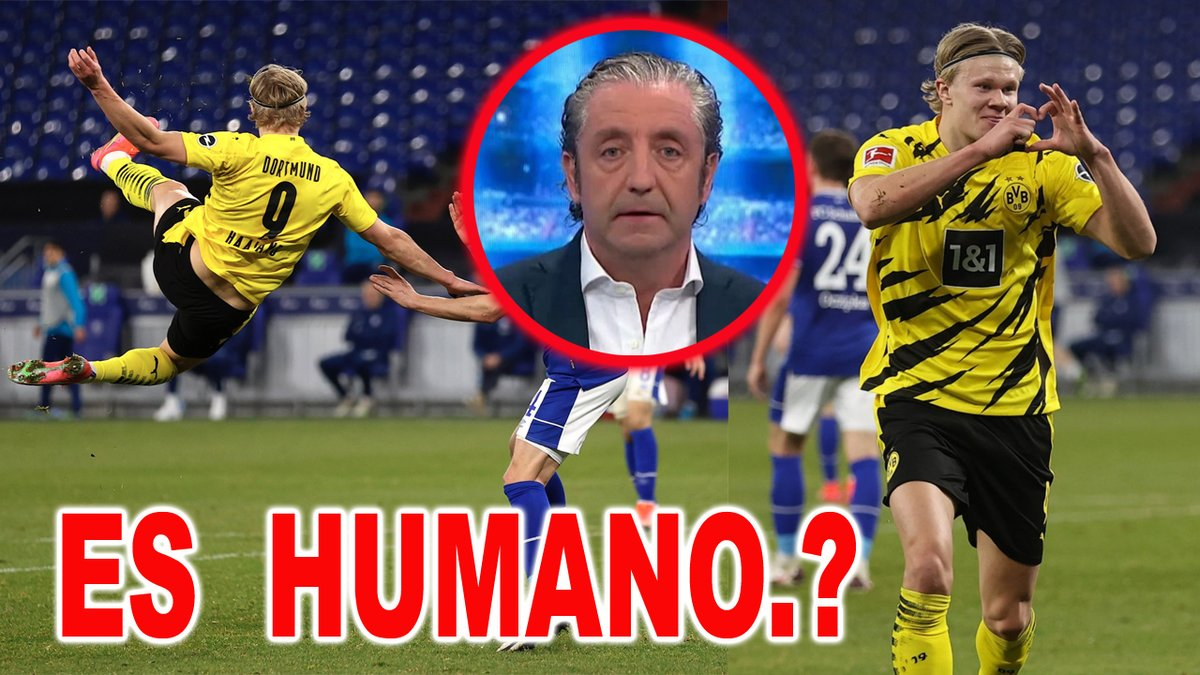 La Prensa se rinde al BRUTAL Gol de Haaland Schalke 04 vs Borussia Dortmund 0-4 ES HUMANO? https://t.co/IYIYA4ERvd :p https://t.co/P0DQydajsR