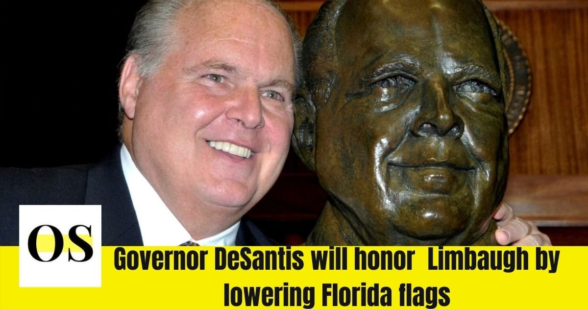 #DeathSantis showing he is a card-carrying member of the KKK  Florida ordered to fly the flag at half-staff for Rush Limbaugh  DeSantis needs to be voted out of office this is horrible  #ONEV1 #DemVoice1 #DemCastFL #wtpBLUE