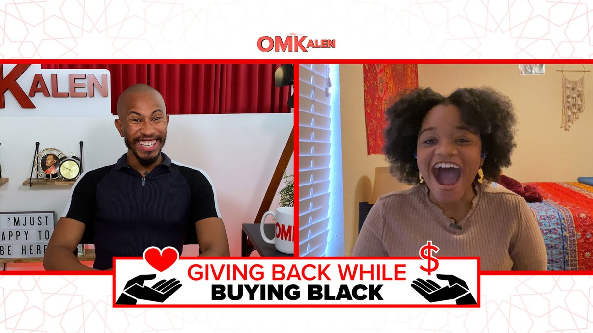 "I am so happy to celebrate Black History Month with ""Giving Back While Buying Black""! My team and I hand picked multiple Black owned businesses from around the country to not only spotlight, but to also gift to some very deserving people. Today's episode features Alise!"