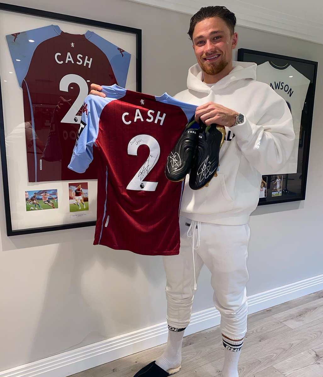 Im giving away a signed shirt & my @adidasfootball COPA's signed by me 🔥 All you have to do to win is:  1️⃣ Follow @mattycash622, @Dugout 2️⃣ RT this post 3️⃣ Tag 2 mates   Two winners will be announced on 1st March! Good luck 🤞