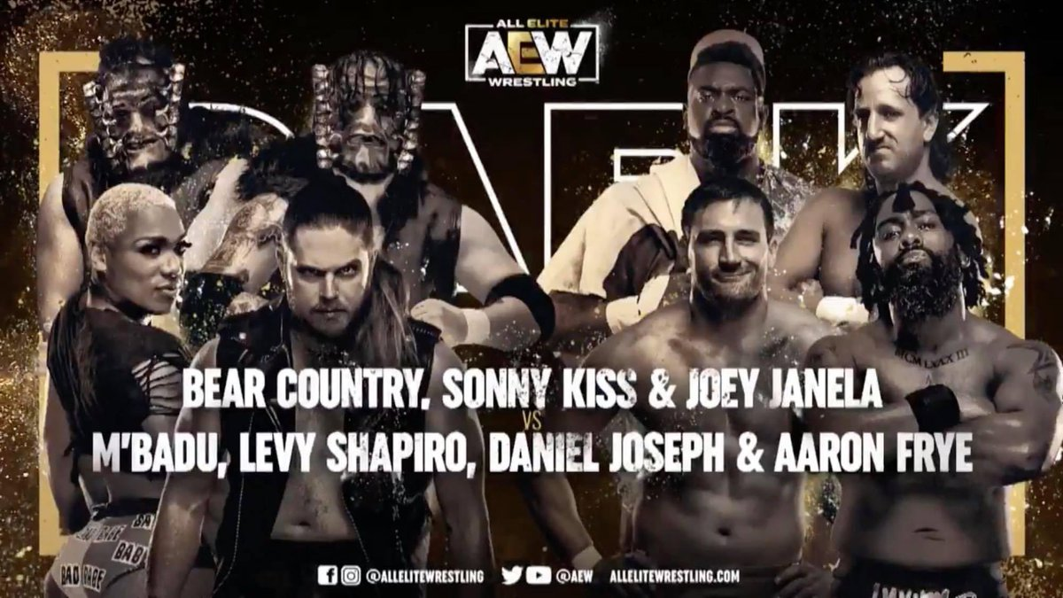 So very proud of my dude @LeviShapiro @TheAEWDark is about to be #timeless @AEW