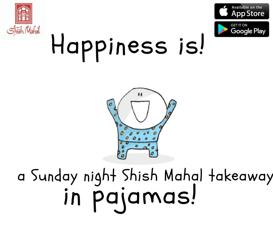 Hey Shish Snobs...The utter bliss of eating your Shish mahal takeaway in your jammies😀 how do you eat yours and tag who with #shishmahal #shishsnobs #takeaway #sundaynight https://t.co/ksphQDHpsO