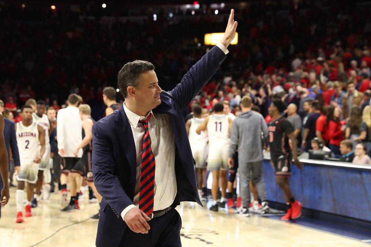 ✨300✨wins for Sean Miller at Arizona! Congratulations, Coach