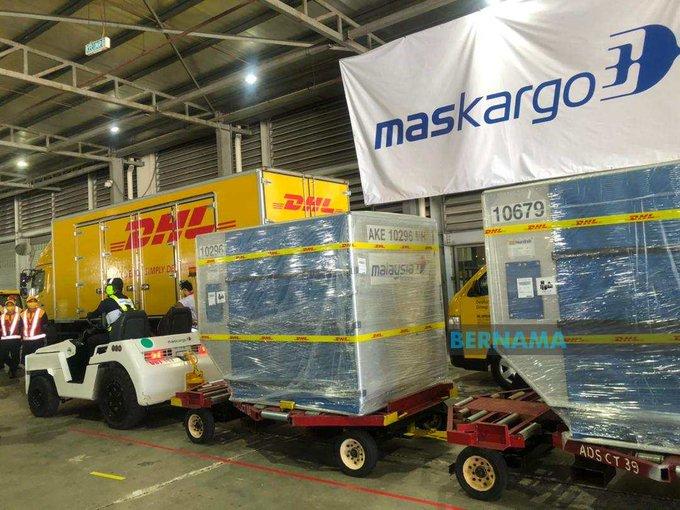 Paket Vaksin Pfizer untuk Malaysia sudah sampai Minggu (21/2/2021)